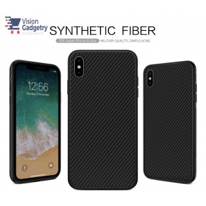 iPhone XS Max Nillkin Synthetic Fiber Case Cover