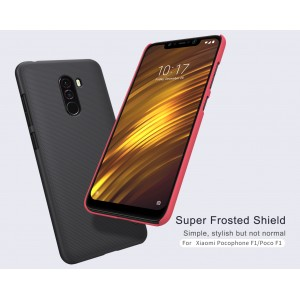 Xiaomi Pocophone F1 Nillkin Frosted Shield Cover Case FOC SP