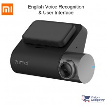 Xiaomi 70Mai PRO WiFi Car Camera Dashcam 1944p 140 Degree English Version