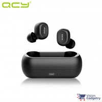 QCY T1 TWS Wireless Sport Bluetooth 5.0 Earphones Headphones w Dock