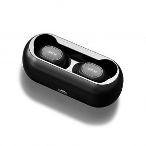 QCY T1 TWS Wireless Sport Bluetooth 5.0 Earphones Headphones w Dock