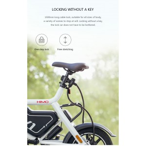 Xiaomi Himo L150 Cable Lock for Electric Scooter Bicycle Bike