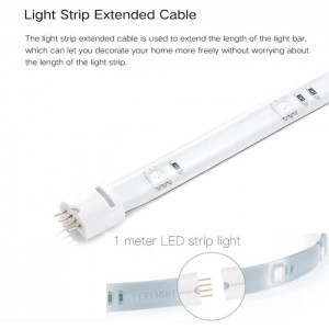 Xiaomi Yeelight Lightstrip Light Strip Plus Extension 1M RGB YLOT01YL