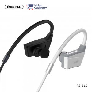 REMAX S19 RB-S19 Magnet Headset Earphone Wireless Sport Bluetooth 4.2