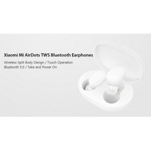 Xiaomi Mi Airdots Bluetooth 5.0 TWS Earphone Headset w Dock TWSEJ02LM