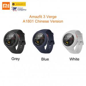 Xiaomi Mi Amazfit 3 Verge Huami Smart Watch Smartwatch CHINESE