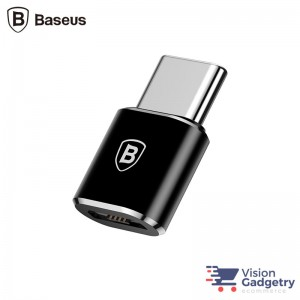 Baseus OTG Micro USB Female to Type C Male Adapter Converter CAMOTG-01