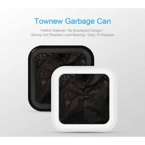 Xiaomi Townew T1 Smart Dustbin Trash Can Garbage Bag Plastic Refill WHITE
