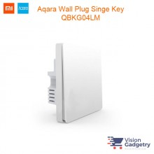 Xiaomi Mi Aqara Smart Home Wall Switch Plug Single Gang ZigBee QBKG04LM