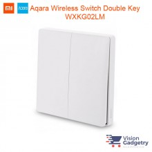 Xiaomi Mi Aqara Smart Home Wireless Switch Plug Double Gang ZigBee WXKG02LM