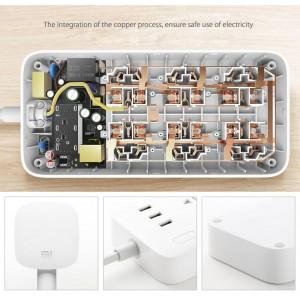 Xiaomi Mi Mijia Extension Power Strip 6 Outlet 3 USB Plug CXB6-1QM
