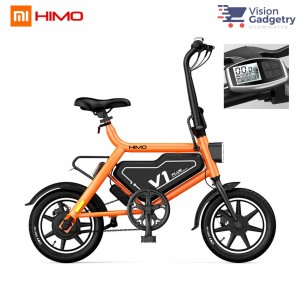 Xiaomi Himo V1 Plus Electric Moped Scooter Smart Foldable E Bicycle Bike 2019 Model