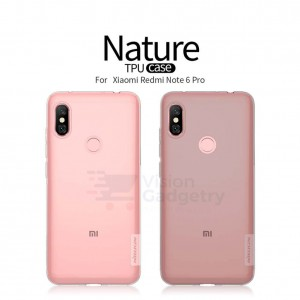Huawei Redmi Note 6 Pro Nillkin Nature TPU Case Cover