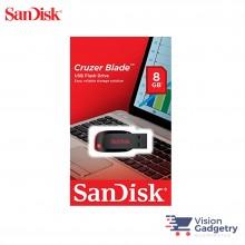 Sandisk Cruzer Blade USB Pendrive Thumb Drive 8GB