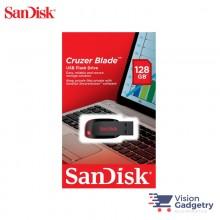 Sandisk Cruzer Blade USB Pendrive Thumb Drive 128GB