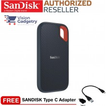 SANDISK Extreme External Portable SSD USB 3.1 550mbs IP55 2TB