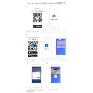Sonoff Smart Home Wifi Wireless Switch RF App Control 433mHz Amazon Google