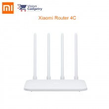 Xiaomi Mi Router 4C 2.4G Band 4 Antennas 300Mbps R4CM
