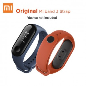 Xiaomi Miband 3 Band Strap Replacement Original XMWD02HM