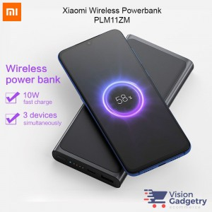 Xiaomi Mi Wireless Power Bank Powerbank Qi 10000mah 10W PLM11ZM