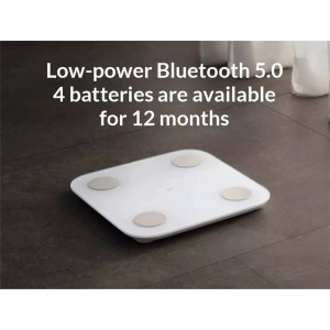 Xiaomi Mi Mijia Smart Body Composition Weight Scale 2 LED Bluetooth 5.0 XMTZC05HM