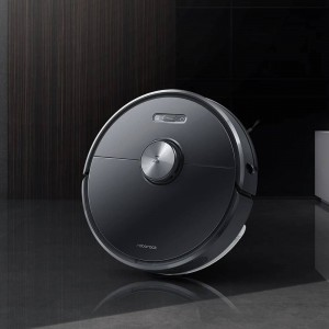 Xiaomi Roborock T6 Smart Robot Vacuum Cleaner Mop Black Ready Stock