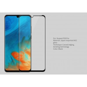 Huawei P30 Pro Nillkin Tempered Glass Screen Protector 3D CP+MAX Fullscreen Black