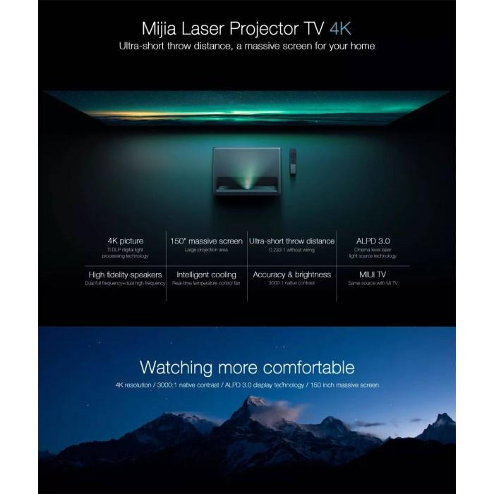 Xiaomi Mi Laser Projector Full HD 4K ALPD 3 0 5000 Lumens