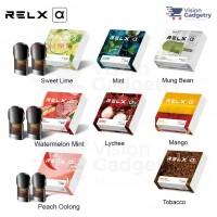 100% Original Relx Alpha Refill Pod Vape Electronic Cig Flavor