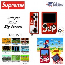 Sup Supreme Mini Handheld Game Console Handheld Retro 400in1 Classic Games Gameboy