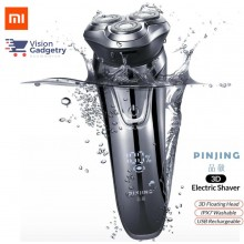 Xiaomi Soocas Pinjing So White ES3 3D Electric Shaver Razor Wireless IPX7
