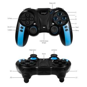 iPega PG-9090 9090 Blue Elf USB Dongle Wireless Bluetooth Gamepad Controller