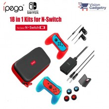 iPega PG-9182 9182 18in1 Kit for Nintendo Switch Storage Bag Card Case Screen Protector