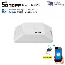 Sonoff Basic RFR3 Smart Home Wifi DIY Wireless Switch App Control 2200W
