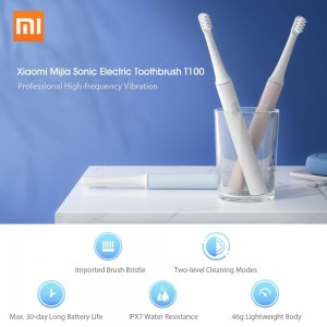Xiaomi Mijia Mi Sonic Electric Toothbrush T100 Rechargeable MES603