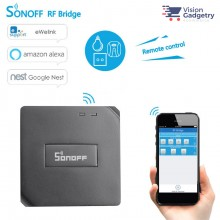 Sonoff RF Bridge Smart Home Wifi Wireless Switch App Control 433Mhz