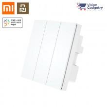Xiaomi Mi Mijia PTX Smart Home Wireless Switch Plug Triple 3 Gang WiFi Zero Fire Version