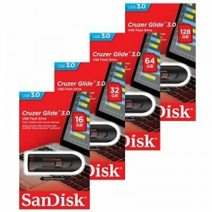 SanDisk Cruzer Glide CZ600 USB 3.0 Flash Drive Pendrive 16GB