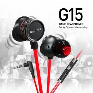 Plextone G15 Gaming Earphone Headset In-ear Earbud Anti Noise w Mic