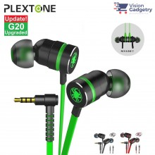 Plextone G20 Gaming Earphone Headset In-ear Earbud Magnetic w Mic (3.5mm)