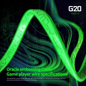 Plextone G20 Mark III Upgrade Gaming Earphone Headset In-ear Earbud Magnetic w Mic (3.5mm)