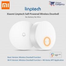 Xiaomi Mijia Mi Linptech Self Powered Wireless WiFi Smart Doorbell