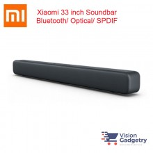 Xiaomi 33 Inch Mi TV Soundbar Home Theater Wired/ Wireless Bluetooth Audio Speaker Black
