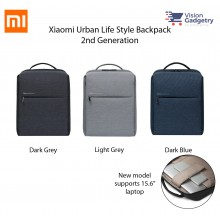 Xiaomi City Urban Life Style Bag Backpack 2 2nd Gen Laptop Bag DSBB03RM