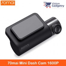 Xiaomi 70Mai 2 Car Camera Mini Dashcam 1600p 140 Degree Parking Monitor Midrive D05