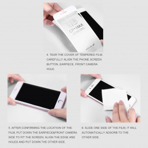 IPhone 11 / XR Nillkin Tempered Glass Screen Protector 3D CP+MAX Fullscreen Black