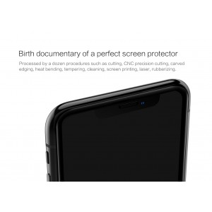 IPhone 11 Pro Nillkin Tempered Glass Screen Protector 3D CP+MAX Fullscreen Black