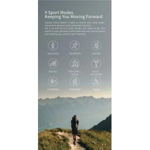 Xiaomi Haylou Smart Watch IP68 Waterproof Heart Rate Monitor Pedometer LS01