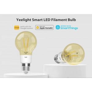 Xiaomi Yeelight SMART LED Filament Light Bulb E27 6W YLDP22YL Homekit Google 500lm