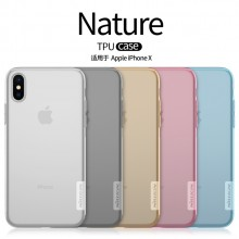 iPhone X XS Nillkin Nature TPU Case Cover